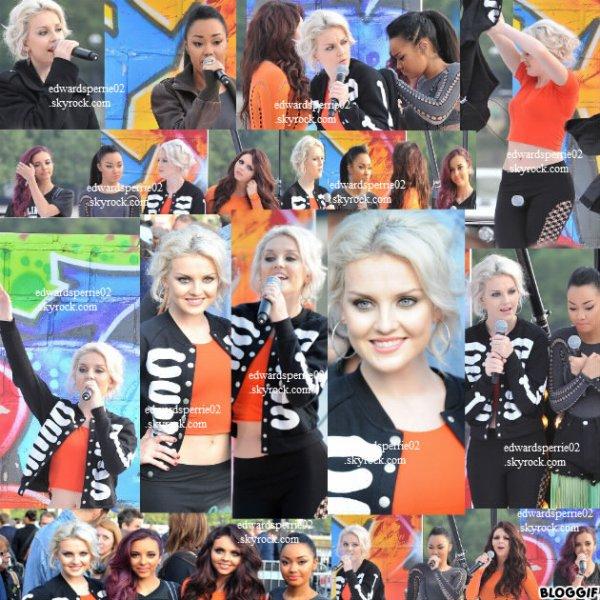 03/09/12 : Les filles étaient en live elle sont chanter Wings pour Daybreak !