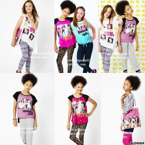 Le 25 Septembre 2012 ▬▬ Nouvelles photos de la collection des filles pour Primark.