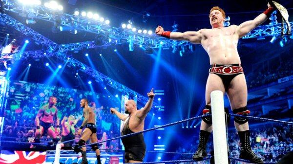 Sheamus, Randy Orton & Big Show vs Daniel Bryan, Mark Henry & Cody Rhodes