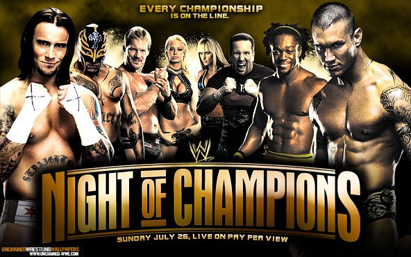 ancien affiche de pay per view de night of champion