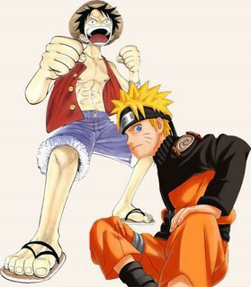 One Piece et Naruto