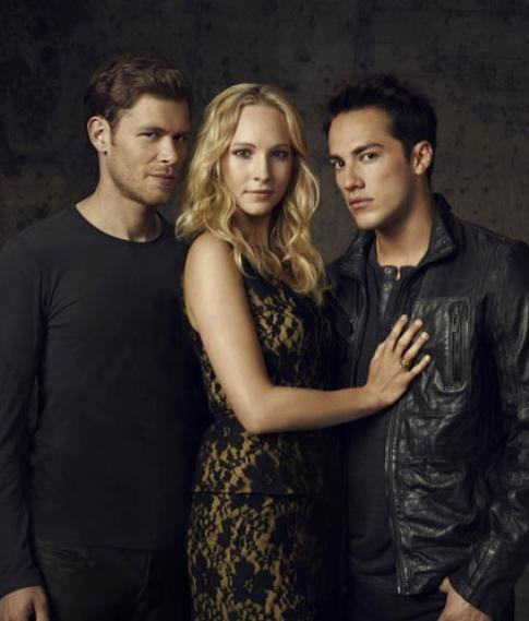 Klaus,Caroline et Tyler