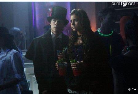 Photo promotionnelles de vampire diaries saison 4