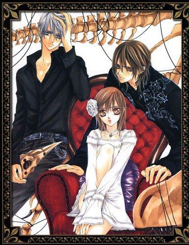 vampire knight : kaname, yuki et zero