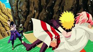 Naruto et Sasuke et sakura