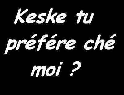 Petite Question ^^