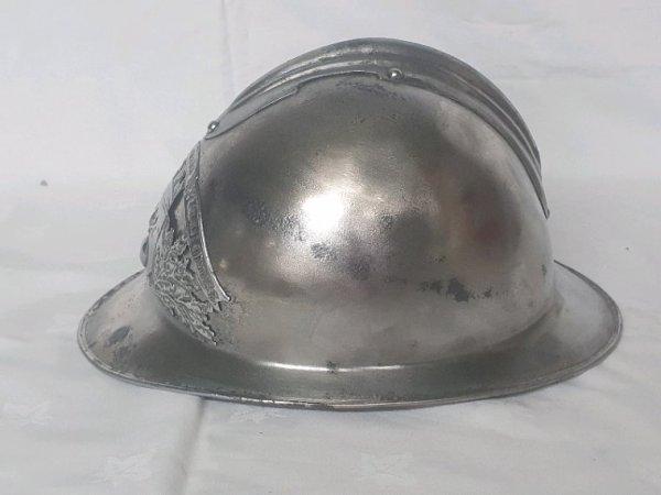 Casque pompier st Laurent  de chamousset 1923