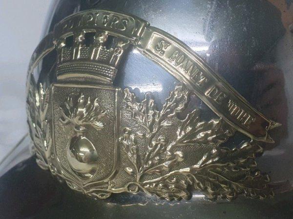 Casque pompier 1933 st bonnet de mure