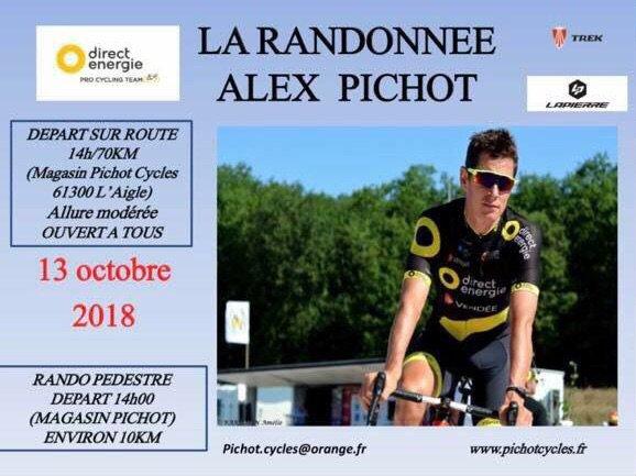 •LA RANDONNÉE ALEX PICHOT•