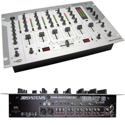 table de mixage beat 6