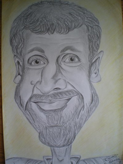 Caricature de mon père