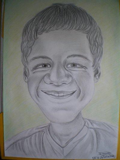 Caricature de mon plus grand frère.