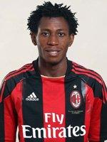 les attaquants d'AC Milan