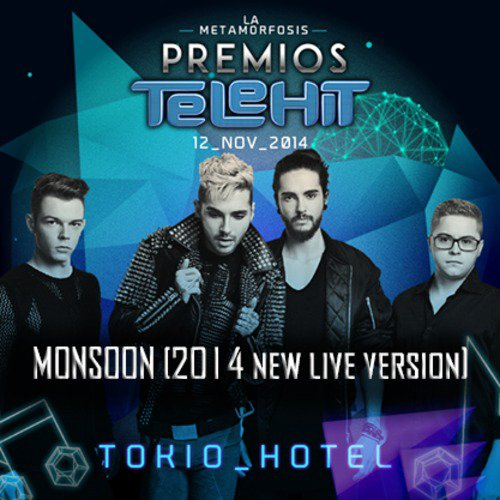 Audio Monsoon live, Premios Telehit, 12.11.2014