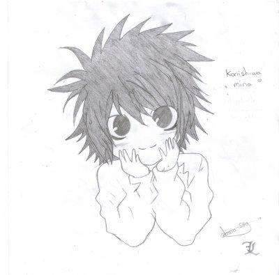 dessin manga death note