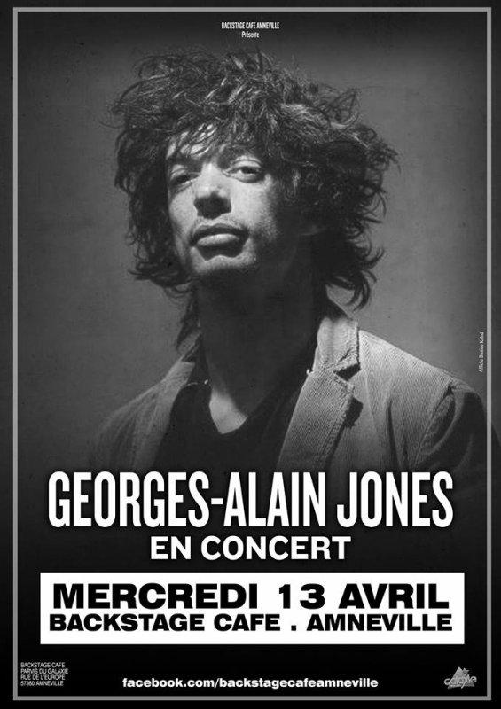 GEORGES ALAIN JONES EN CONCERT LE 13 MARS