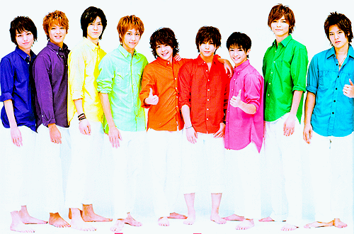 Les Hey!Say!JUMP (à 9)