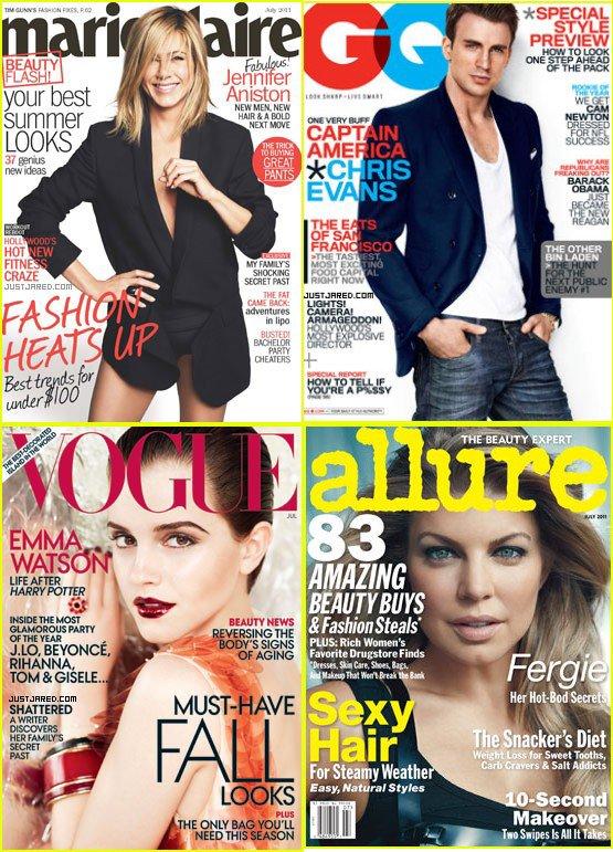 Couverture de Magazine pour Juillet 2011