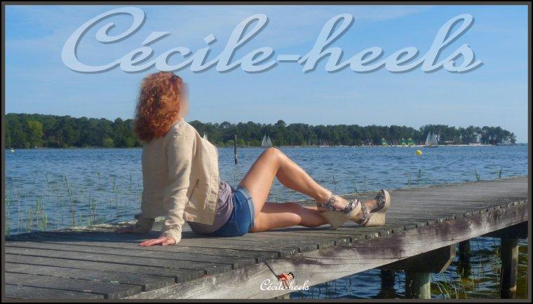 Beau temps au bord de l'étang.