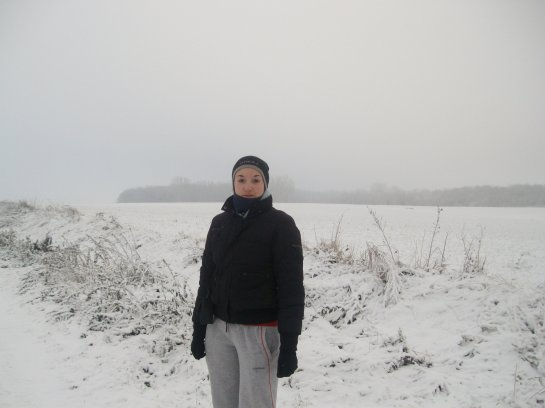 la neige est là