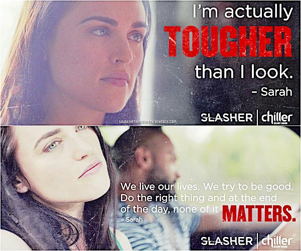 - Slasher : nouveaux posters -