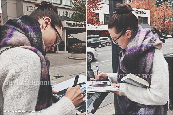 - Candids : Katie à Vancouver! -