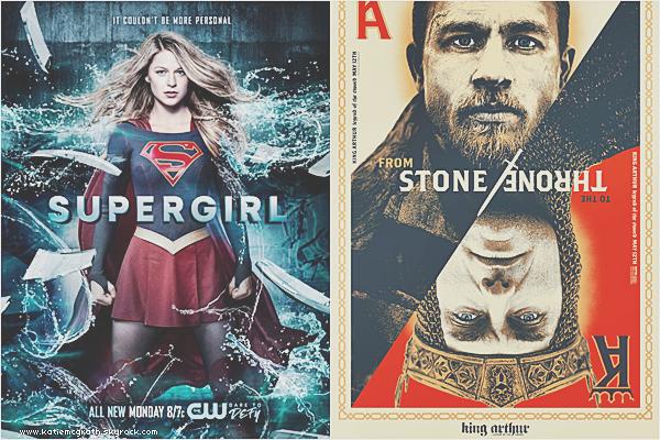 - Interview, Candids et Supergirl -