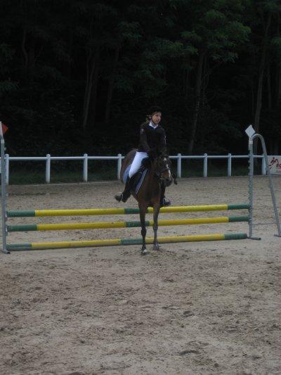 Croquette et moi au concours du 19.06.2011 au dachsbuhl