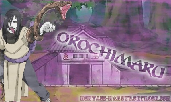 Orochimaru le ninja légendaire