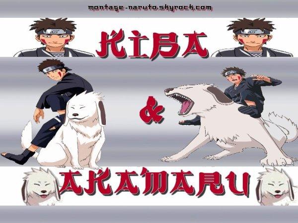 Kiba et Akamaru