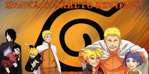 Montage-Naruto revient après une longue absence !