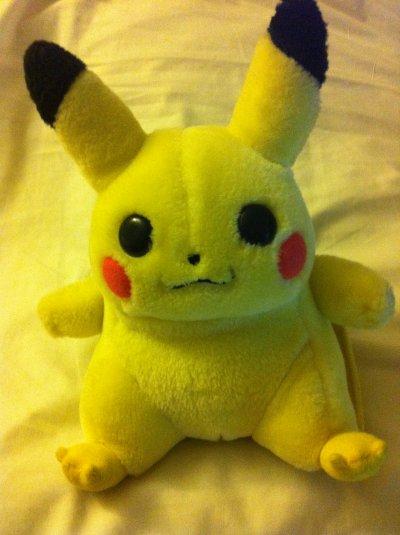 présentation de pikachu