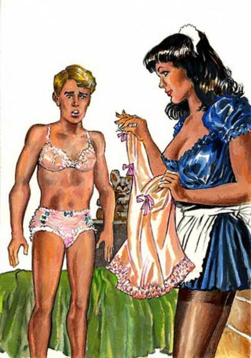 C'est ce qui arrive quand Nous laissez Nos Mères de choisir Notre costume .....♥