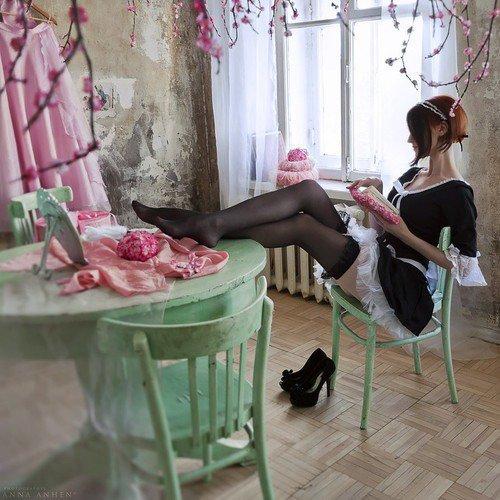 L'heure du thé de ménage ♥