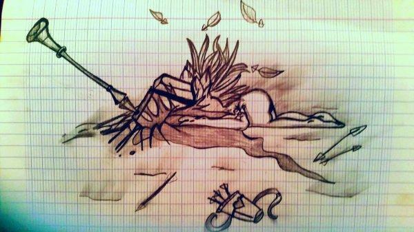 Aller buter un ange et lui briser les ailes...