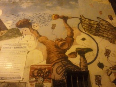 grande fresque murale