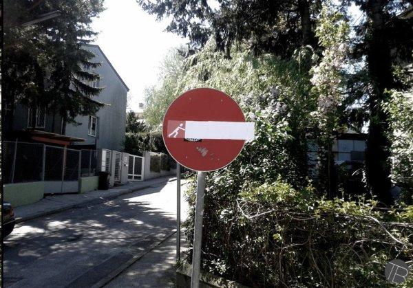 Sens interdit !