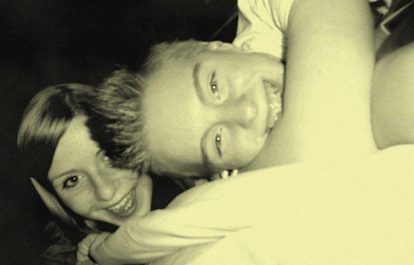 Colleen & Rachel.♥