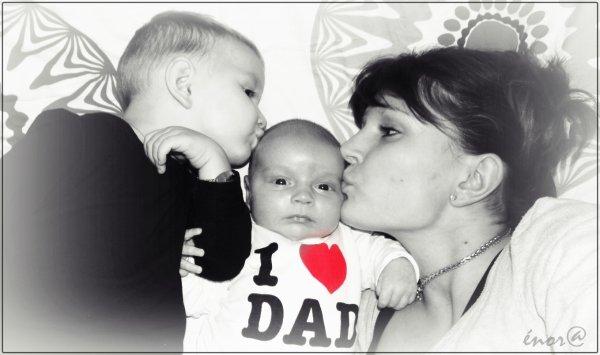 ..:: eux , mes vies , mon bonheur , ma joie de vivre , mes TrésOrs !!! ::..