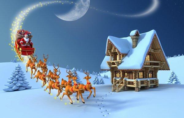 bientot la belle  maison de Noel