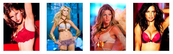 Les anges de Victoria's Secret.