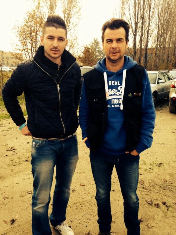 mes amis Thibault et Wim