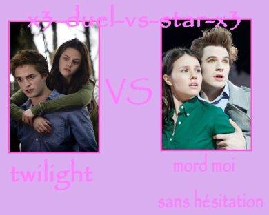 Twilight Vs MORD MOI SANS hesitation