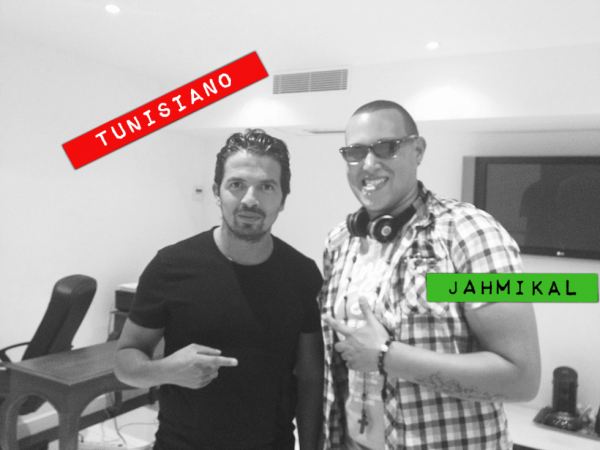 Jahmikal & Tunisiano en Studio