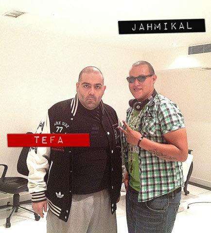 Jahmikal & un grand homme (dans la musique) Mr Tefa
