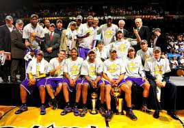 Photo équipe Los Angeles lakers