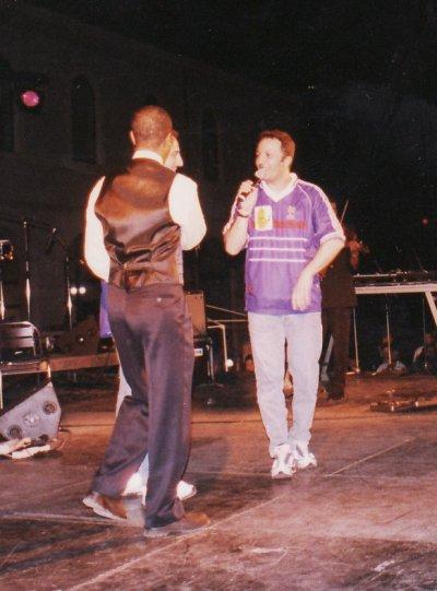 Hassan Haliwa avec Arthur et Gad el Maleh soirée a Toulon