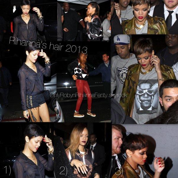 Rihanna's hair 2013