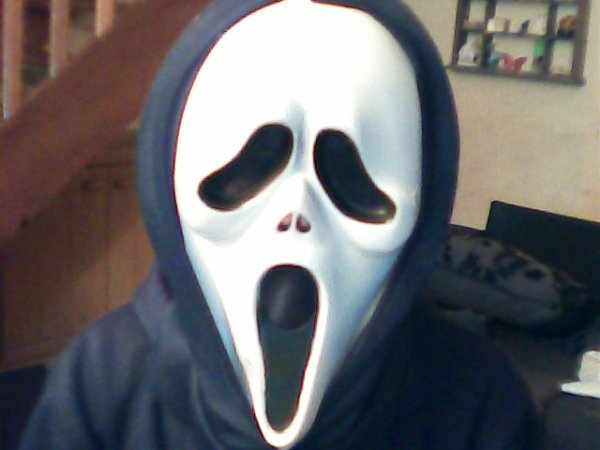 mon masque d'hallowen