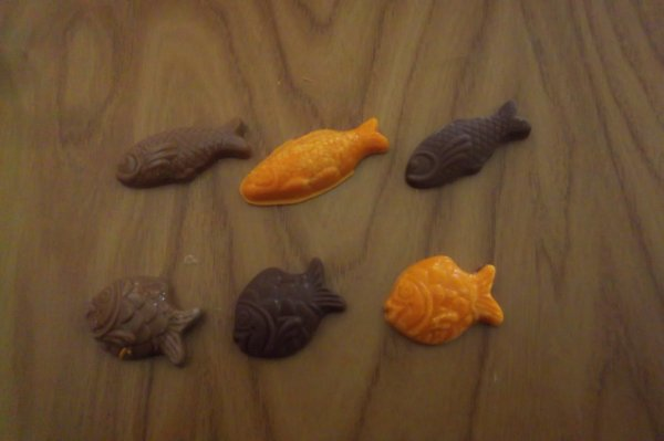 1avril mes poissons en chocolat